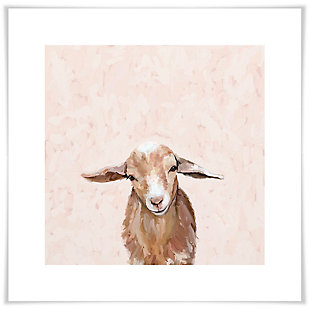 GreenBox Art Happy Goat Thoughts by Cathy Walters Art Prints, , large