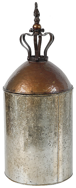 Home Accents Vase, Antique Copper Finish, large