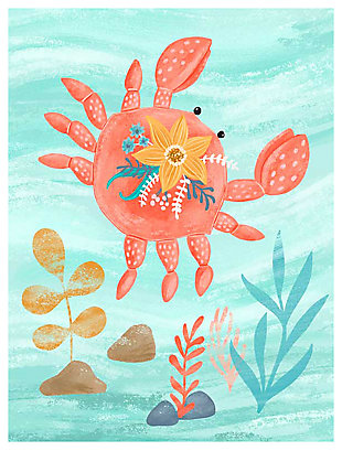 Oopsy Daisy Sea Life Friends - Crab by Olivia Gibbs Art Prints, , large