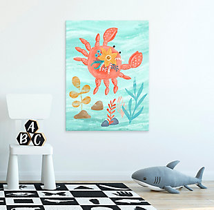 Oopsy Daisy Sea Life Friends - Crab by Olivia Gibbs Canvas Wall Art, , rollover
