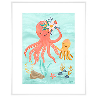 Oopsy Daisy Sea Life Friends - Octopus by Olivia Gibbs Paper Art Prints, , large
