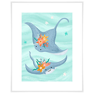 Oopsy Daisy Sea Life Friends - Stingrays by Olivia Gibbs Art Prints, , large