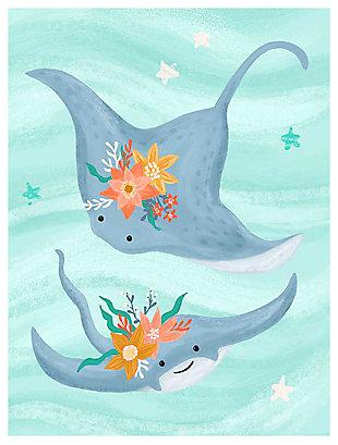 Oopsy Daisy Sea Life Friends - Stingrays by Olivia Gibbs Canvas Wall Art, , large