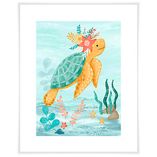 Oopsy Daisy Sea Life Friends - Turtle by Olivia Gibbs Paper Art Prints, , large