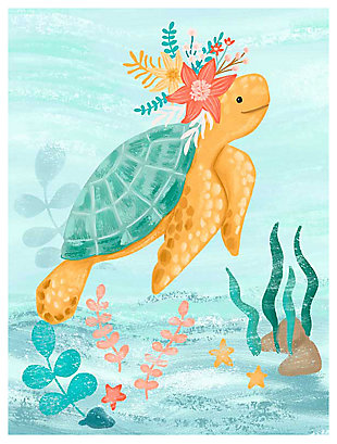 Oopsy Daisy Sea Life Friends - Turtle by Olivia Gibbs Art Prints, , large