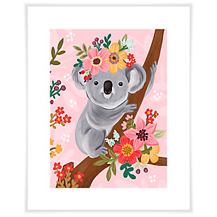 Oopsy Daisy Sweet Koala On Branch by Olivia Gibbs Art Prints, , large