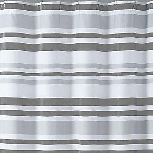 Pem America Truly Soft Curtis Stripe Shower Curtain, , large