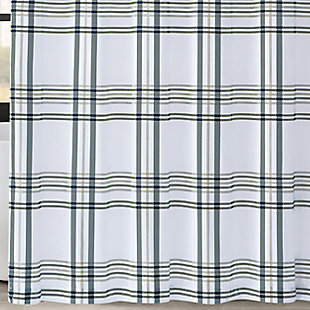 Pem America London Fog Kent Plaid Shower Curtain, , large