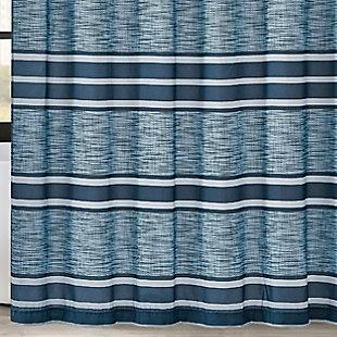 Pem America London Fog Mitchell Stripe Shower Curtain, , large