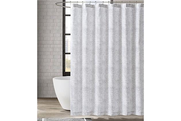 Pem America London Fog Sasha Paisley Shower Curtain, , large