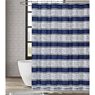 Pem America London Fog Watkins Stripe Shower Curtain, , large