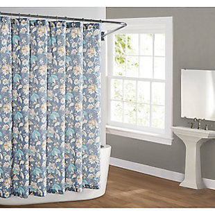 Pem America Cottage Classics Florence Shower Curtain, , rollover