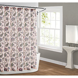 Pem America Cottage Classics Ridgefield Shower Curtain, , rollover