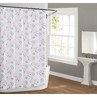 Pem America Cottage Classics Rose Dusk Shower Curtain, , rollover