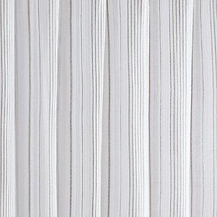 Pem America Cottage Classics Warm Hearth Stripe Shower Curtain, , large