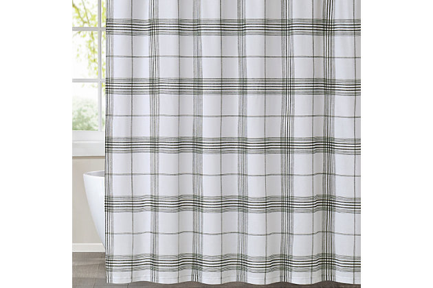Pem America Cottage Classics Cottage Plaid Shower Curtain, , large