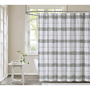 Cottage Classics Cottage Classics Cottage Plaid Shower Curtain, , large