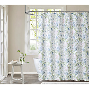 Pem America Cottage Classics Field Floral Shower Curtain, , large