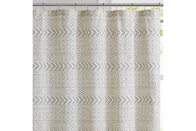 Pem America Brooklyn Loom Chase Shower Curtain, , large