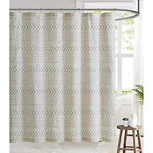Pem America Brooklyn Loom Chase Shower Curtain, , rollover