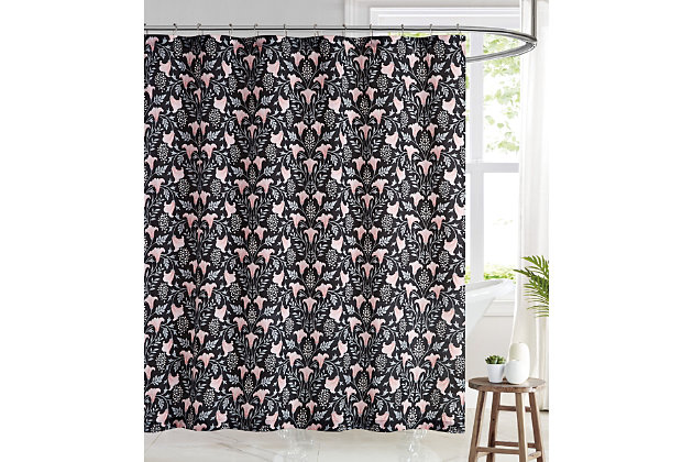 Pem America Brooklyn Loom Galinda Shower Curtain, , large