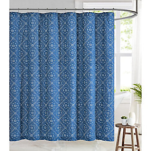 Pem America Brooklyn Loom Katrine Shower Curtain, , rollover