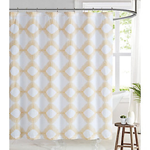 Pem America Brooklyn Loom Merill Shower Curtain, , rollover