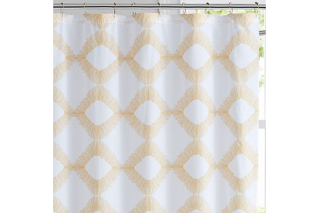 Pem America Brooklyn Loom Merill Shower Curtain, , large