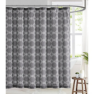 Pem America Brooklyn Loom Nina Shower Curtain, , large