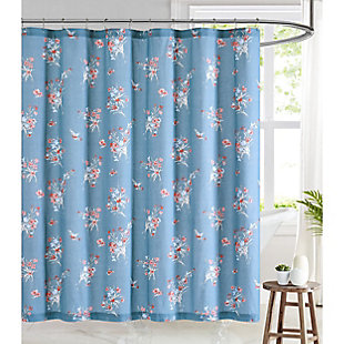 Pem America Brooklyn Loom Paulina Shower Curtain, , rollover