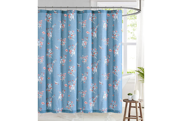 Pem America Brooklyn Loom Paulina Shower Curtain, , large