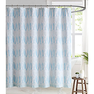 Pem America Brooklyn Loom Trevor Shower Curtain, , rollover