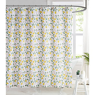 Pem America Brooklyn Loom Verbena Shower Curtain, , large