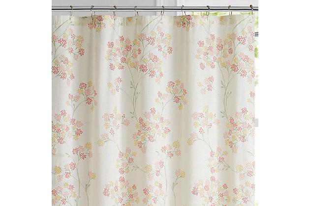 Pem America Brooklyn Loom Vivian Shower Curtain, , large