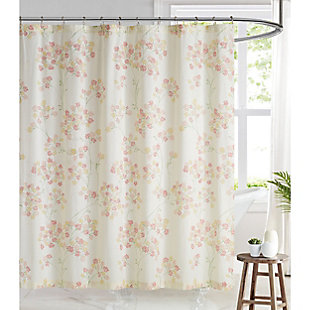 Pem America Brooklyn Loom Vivian Shower Curtain, , large