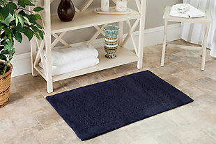 Safavieh SpaPlush Shadow Plush Bath Mats (Set of 2), , rollover