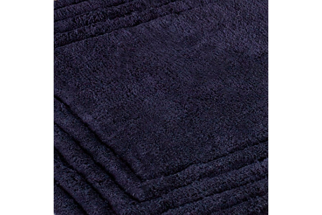 Safavieh SpaPlush Luxe Stripe Bath Mats (Set of 2), , large