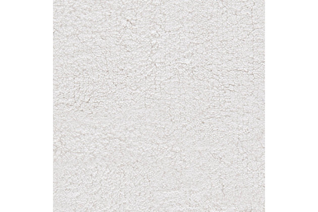 Safavieh SpaPlush Cable Plush Bath Mats (Set of 2), White, large