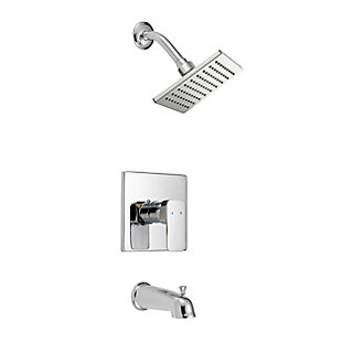 Safavieh Paradise Round Bathtub And Shower Faucet Set, , large