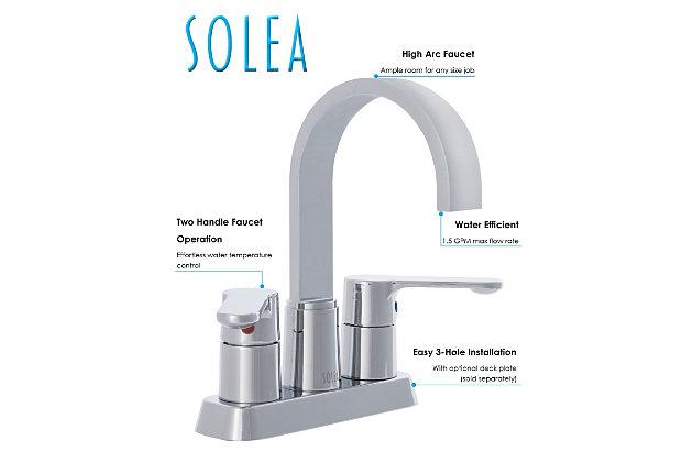 Safavieh Compose Centerset Dual Handle Bathroom Faucet, , large