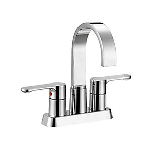 Safavieh Compose Centerset Dual Handle Bathroom Faucet, , large