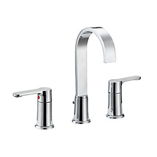 Safavieh Placid Widespread Dual Handle Bathroom Faucet, , large