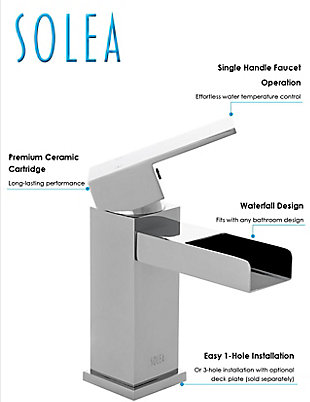 Safavieh Calm Single Handle Bathroom Vessel Faucet, , rollover