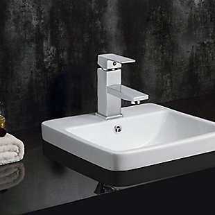 Safavieh Bliss Single Handle Bathroom Vessel Faucet, , rollover