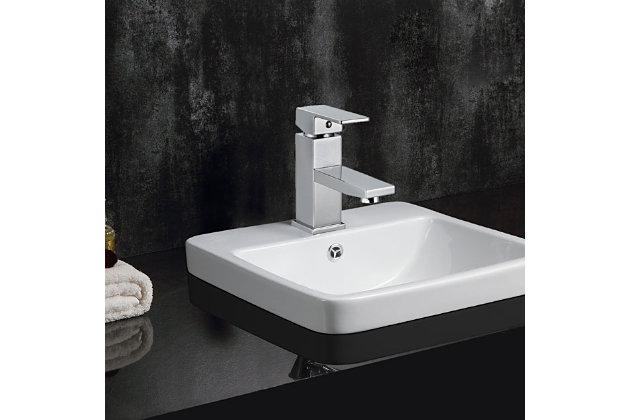 Safavieh Bliss Single Handle Bathroom Vessel Faucet, , large