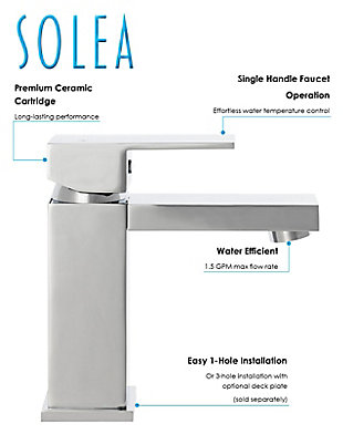 Safavieh Unity Single Handle Bathroom Vessel Faucet, , rollover