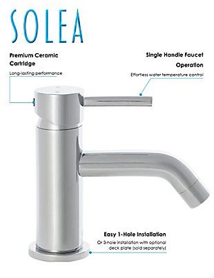 Safavieh Amity Single Handle Bathroom Vessel Faucet, , rollover