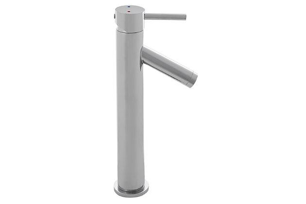 Safavieh Elation Single Handle Bathroom Vessel Faucet, , large