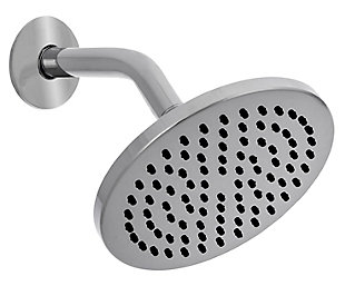 Safavieh Amin Stainless Steel Single Setting Shower Head, , large