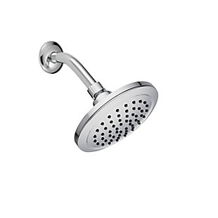 Safavieh Exhale Stainless Steel Single Setting Shower Head, , large